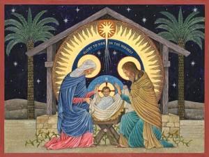 Nicholas Markell Beuronese Nativity